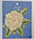 Fab Lab Wearables Layered Flower Iron-on Applique-Cream