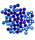 Swarovski Create Your Style 60 pk Combo Hotfix Crystals-Cobalt Shimmer