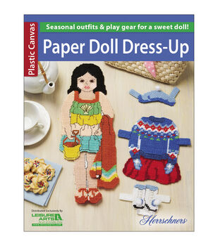 Paper Doll Dress-Up Plastic Canvas Book