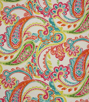 Solarium Outdoor Print Fabric 54''-Cerberus Sherbert