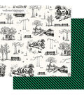 Webster\u0027s Pages the Good Life Double-sided Cardstock-Good Life Sketch
