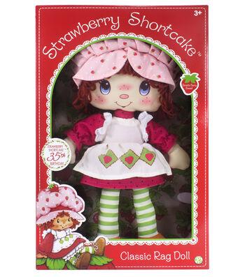 Strawberry Shortcake Retro Soft Doll