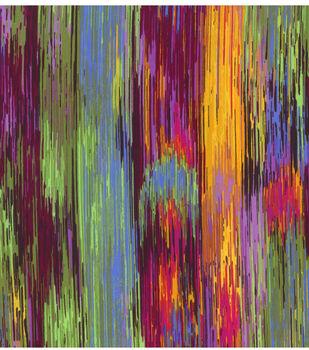 Silky Prints Fabric -Spectrum Lines