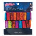 Yaya Han Tribal Elastic Sew-on Cosplay Trim 1\u0027\u0027x1 yd-Multi Stripes
