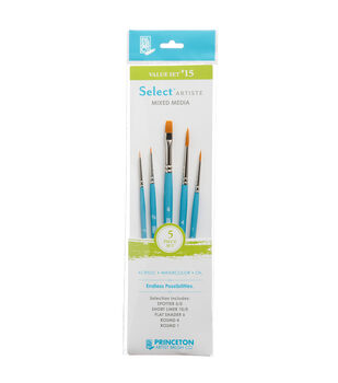 Princeton Artist Brush Co. Select Artiste Brush Value Set #15