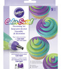 Wilton ColorSwirl 3-Color Coupler Decorating Kit, 9-Pc.