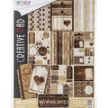Ciao Bella Double-Sided Paper Pack 90lb A4 10/Pkg-Woodland, 10 Designs