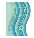 Spellbinders Borderabilities Card Creator Dies-A2 Curved Borders 1