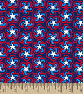 Patriotic Fabric-Retro Star