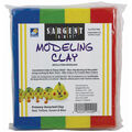 Sargent Art Modeling Clay-Assorted Primary Colors