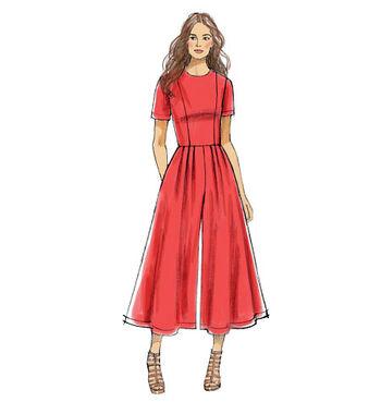 Vogue Patterns Misses Dress-V9075