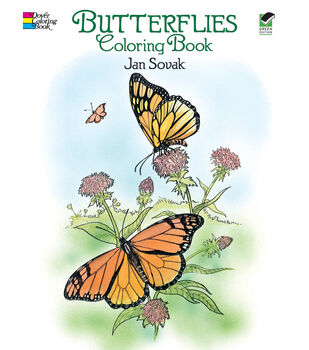 Adult Coloring Book Dover Publications Butterflies
