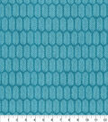 Home Essentials Decor Fabric-Teal Quills
