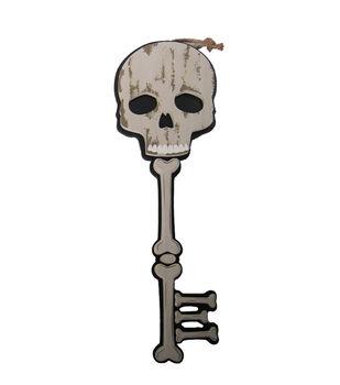 Maker's Halloween Skull Key Wall Decor
