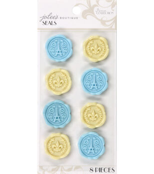 Jolee's Boutique Parisian Round Seals