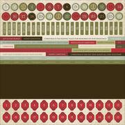 Numbrs 12-st Nichlas Stickers, , hi-res