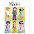 McCall\u0027s Crafts Doll Clothes-M6137