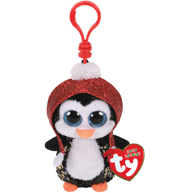 Ty Inc. Baby Beanies Sequin Gale Penguin Clip, , hi-res, image 1