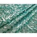 Glitterbug Fabric 31\u0027\u0027-Turquoise 3D Scales