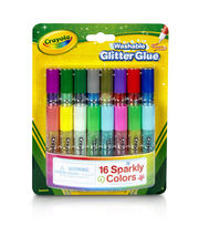 Crayola Pip-Squeaks Washable Glitter Glue 16/Pkg, , hi-res