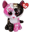 Ty Inc. Flippables Medium Sequin Malibu Cat