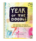 Year Of The Doodle Coloring Book
