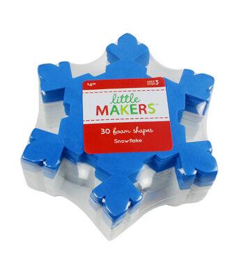 Little Makers Foam Shapes-Snowflake