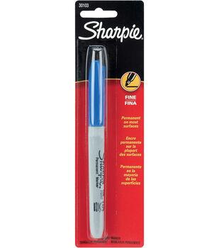 Sharpie Fine Point Permanent Markers 1/Pk-Blue