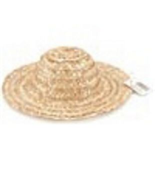 Darice Round Straw Top Hat 14""