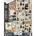 Ciao Bella Double-Sided Creative Pack 90lb A4 9/Pkg-Jazz Club, 9 Designs