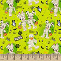 Disney Mickey & Minnie Cotton Fabric-Just Say Boo