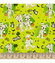 Disney Mickey & Minnie Cotton Fabric-Just Say Boo, , hi-res