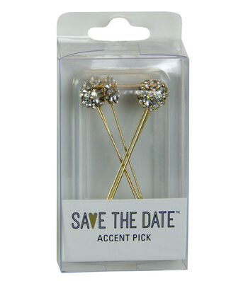 ACCENT PIN GOLD SHIMMER