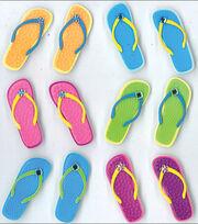 Jolee's Cabochons Stickers-Flip Flops, , hi-res
