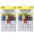 Koplow Games Classroom Dice Set, 31 Per Set, 2 Sets