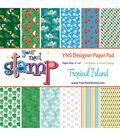 Your Next Stamp 24 sheet 6\u0027\u0027x6\u0027\u0027 Paper Pad-Tropical Island
