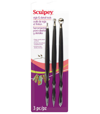 Studio By Sculpey Style & Detail Tools Set Of Three