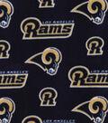 Los Angeles Rams Fleece Fabric -Logo