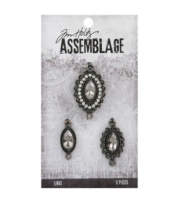 Tim Holtz Assemblage Links-Fanciful Trio