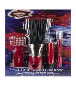 Silver Brush Limited The Art Sherpa Galaxy Brush Set