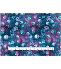 Novelty Cotton Fabric 43\u0027\u0027-Navy & Purple Geometric Planet