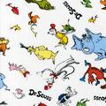 Dr. Seuss Cotton Fabric -Allover