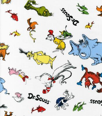 """Dr. Seuss™ Cotton Fabric 44""""-Allover"""