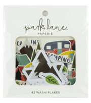 Park Lane Paperie 42 pk Washi Flakes-Camping, , hi-res