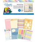 American Crafts Shimelle Box of Crayons 36-sheets 6\u0027\u0027x8\u0027\u0027 Writing Pad