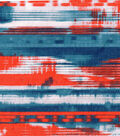 Denim Fabric - Stretch Printed Denim Navajo Abstract
