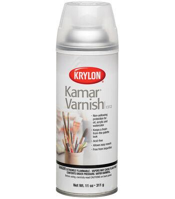 Krylon Kamar Varnish Aerosol Spray 11oz
