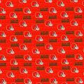 Cleveland Browns Cotton Fabric-Mini Print