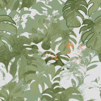 Rainforest Leaves 2