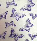Glitterbug Butterfly Organza Glitter-Lilac??